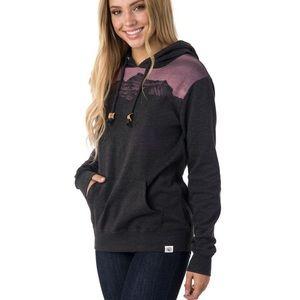Tentree Brigid mountain grey pink hoodie pullover